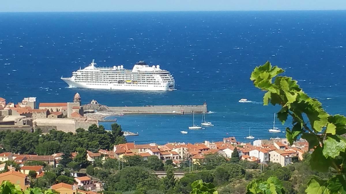 Location Collioure- Location Vacance Maraval- Vue