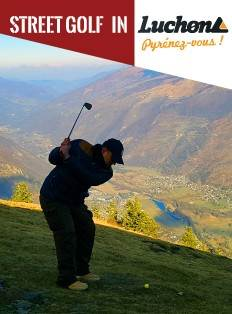 Street Golf in Luchon