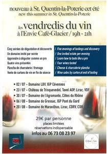 Les vendredis du vin