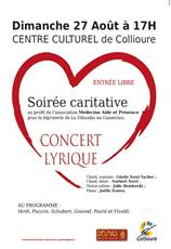 Concert Lyrique - Animations Collioure