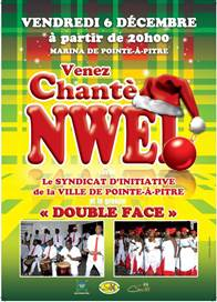 "Photo : PROGRAMME DES ""CHANTE NOEL"" - COMMUNE DE POINTE-A-PITRE"