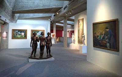 Une visite au musée Sainte-Croix