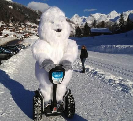 Du fun dans la neige !