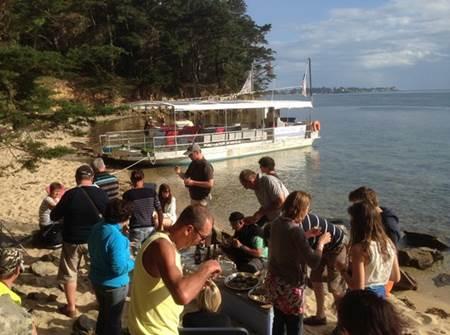 Apéro Ty Punch sur le Golfe du Morbihan avec Mélanie Chouan