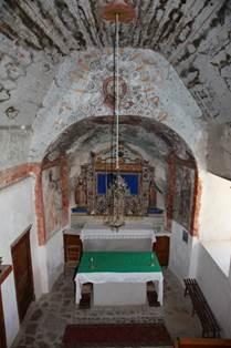 Eglise de Benqué Intérieur