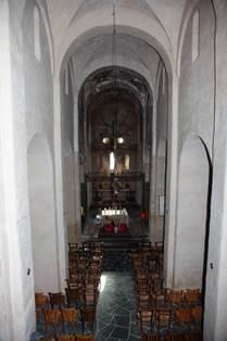 Eglise de Saint-Aventin Intérieur