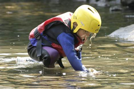 Enfant Antignac Rafting