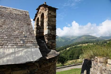 Eglise de Bernet Vue