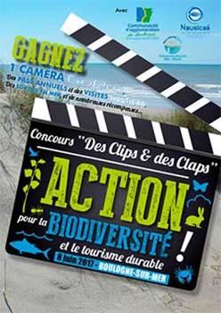 """Concours """"Des Clips & des Claps"""""""