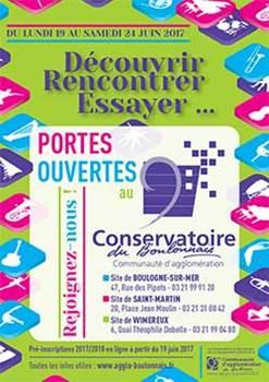 Portes ouvertes au Conservatoire du Boulonnais