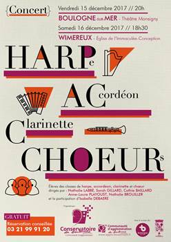Concert HARPAC'CHOEURS