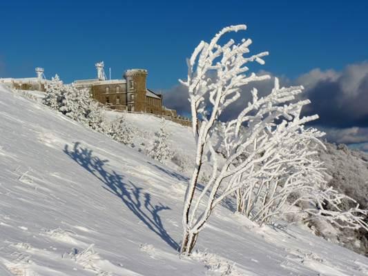 Mont Aigoual sous la neige © Office de tourisme du Mont Aigoual, Michel Monnot