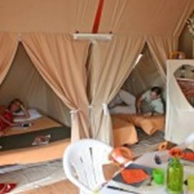 Camping-du-Kerver-Chambre-bungatoile-Saint-Gildas-de-Rhuys-Morbihan-Bretagne Sud Camping Municipal du Kerver