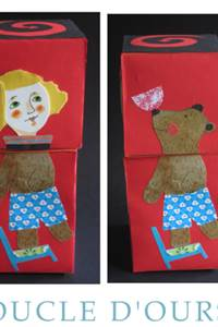 """Atelier papiers découpés """"boucle d'ours"""""""