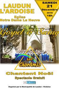 Concert Gospel & Swing par les Chor'amis