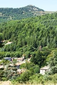 Génolhac, village historique au pied du Mont Lozère
