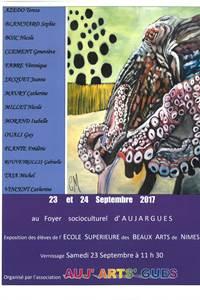 Exposition  des élèves de l'école supérieure des Beaux Arts de Nîmes