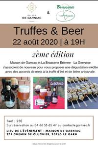 Truffes and beer