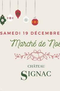 Marché de Noël au Château Signac