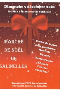 Marché de Noël Salinelles