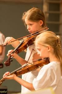 Concert des élèves avec l'orchestre Symphonique
