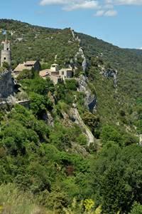 Balade vigne et vin à Aiguèze