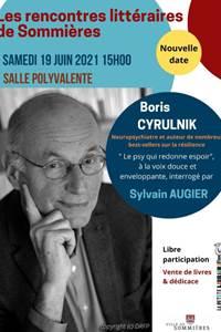 Les rencontres littéraires de Sommières Boris Cyrulnik