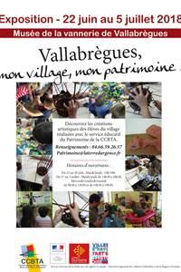 "Exposition ""Vallabrègues, mon village, mon patrimoine"""