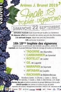 18ème Trophée des vignerons à Vauvert