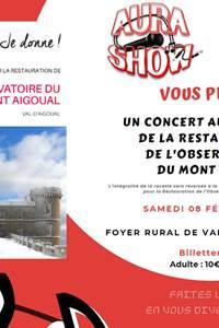Concert pour l'observatoire du Mont Aigoual