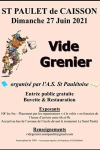 Vide grenier à St Paulet de Caisson