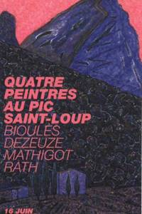 Exposition Quatre peintres au pic Saint-Loup