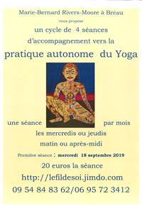 Pratique autonome du Yoga