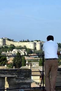 De l'autre côté du pont : Villeneuve lez Avignon