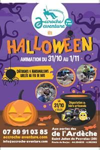 Halloween au parc Accroche Aventure