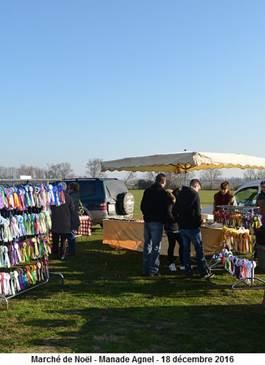 Marché fermier de Noël au Cailar