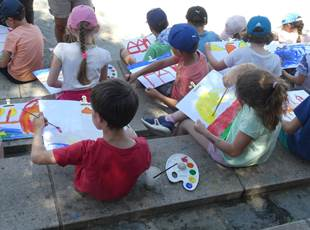 CHILDREN PAINTING WORKSHOP (To book)