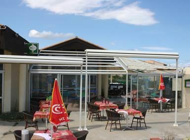 vue extérieur bar-restaurant l'Alogen