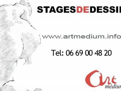 Stages et cours de dessin Paris