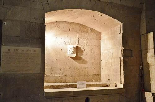 Crypte abbatiale © Bruno Trouillet