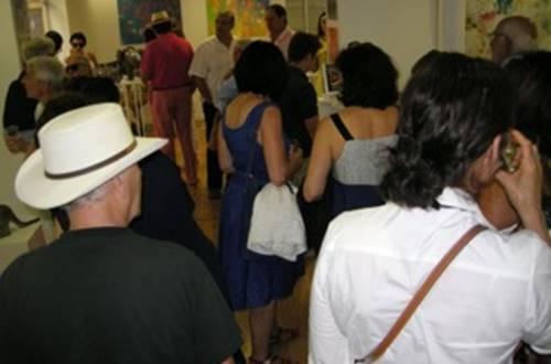 L'Atelier des artistes vernissage © L'Atelier des artistes