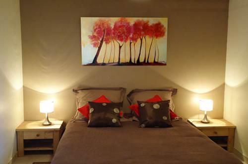 Maison Pons suite familiale studio chambre © PONS Mathieu