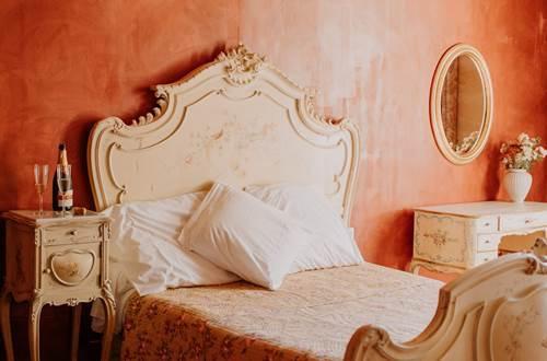 Chambre double au Domaine du Petit Mylord, en Provence ©