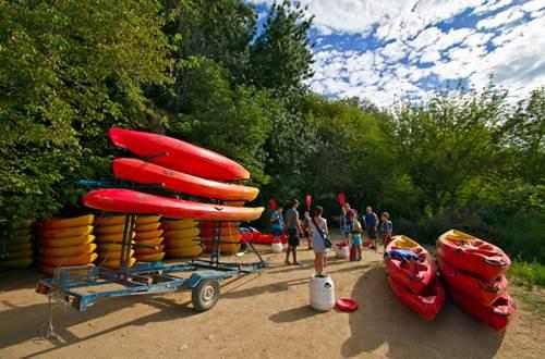 Natu'Rando, location de canoë Remoulins © Sud de France Développement