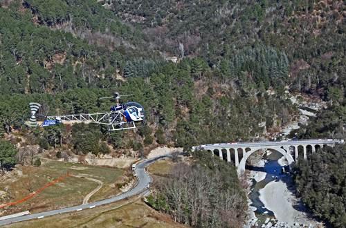Cévennes hélicoptère St Croix de Caderle 4 ©