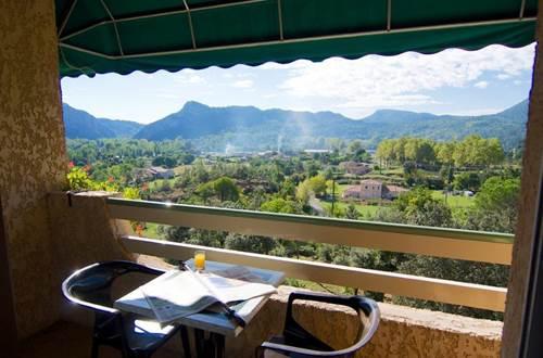 Restaurant La Porte Des Cévennes vue panoramique ©