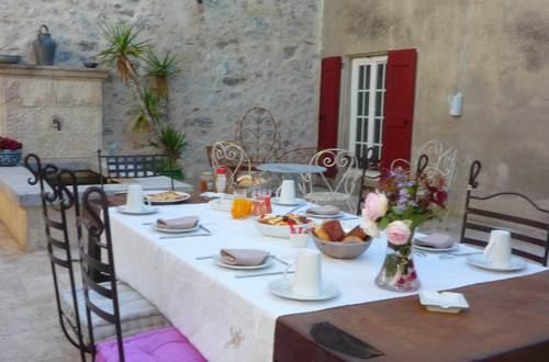 Château de la rode petit déjeuner ©