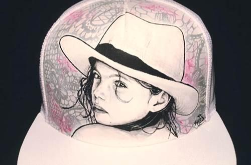 Raisonnable et humain - Swed artiste peintre casquette personnalisée © R&H - Swed