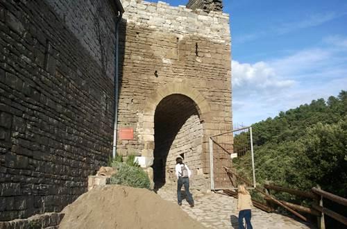 Château de Montalet - Entrée ©