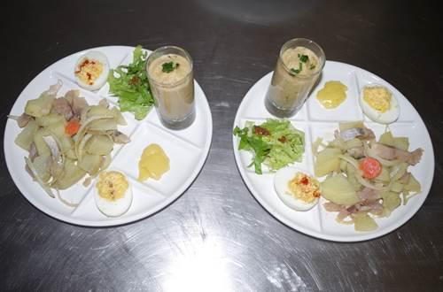 assiette repas bar des terrasses aux plantiers ©